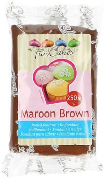 FunCakes Rollfondant Maroon Brown (250g)