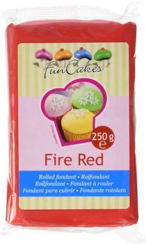 FunCakes Rollfondant Fire Red (250g)