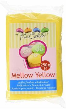 FunCakes Rollfondant Mellow Yellow (250g)