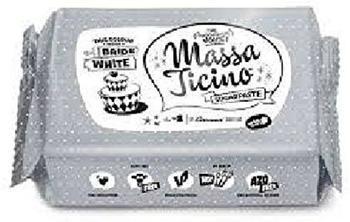 Carma Massa Ticino Sugarpaste Bride White (250g)