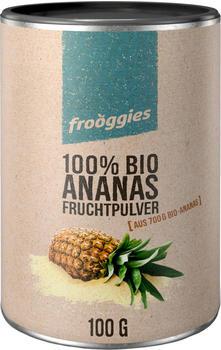 Frooggies Fruchtpulver Bio Ananas (100g)