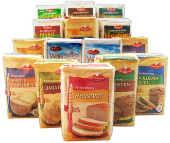 Küchenmeister Brotbackmischungen-Set (15x 500g)
