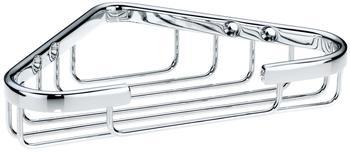 Kela Eck-Duschkorb Brass (21915)