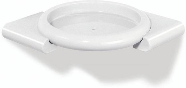 Hewi Serie 477 Eckablage für Dusche (32.100) rubinrot