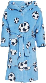Playshoes Fleece-Bademantel Fußball