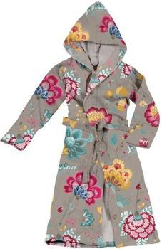 PiP Studio Damenbademantel Floral Fantasy khaki