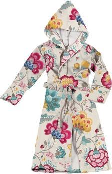 PiP Studio Damenbademantel Floral Fantasy weiß