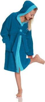 Vossen Bademantel Bixie blau