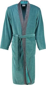 Cawö Bademantel Kimono türkis (5840)