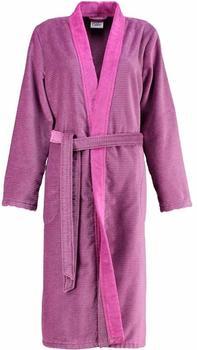 Cawö Kimono Two-Tone mit Schalkragen beere