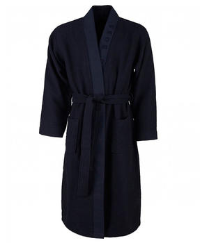 Hugo Boss Waffle Kimono blue