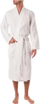 Hugo Boss Waffle Kimono white