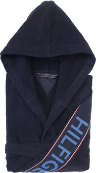 Tommy Hilfiger Bademantel Iconic marine blau