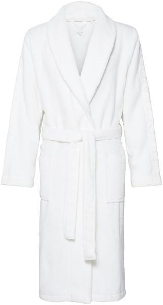 Calvin Klein Herren-Bademantel Robe weiß