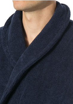 Calvin Klein Herren-Bademantel Robe Blue Shadow