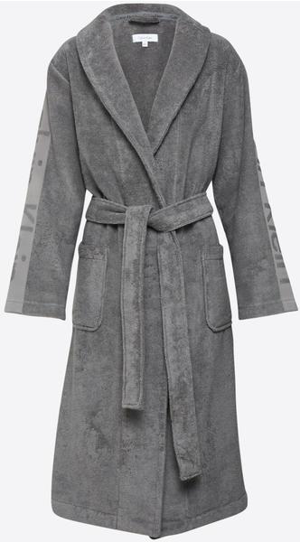 Calvin Klein Bademantel Robe grau