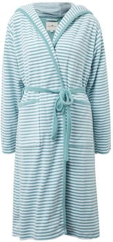 Tom Tailor Bademantel Stripe aqua