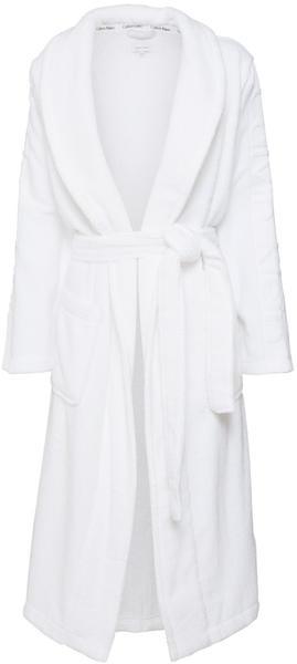 Calvin Klein Bademantel Robe weiß