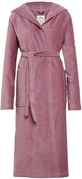 Tom Tailor Basic Velours Bademantel mauve