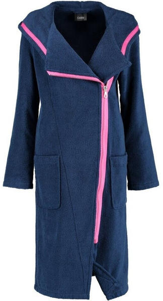 Cawö New Zipper Damen 6116 navy-pink
