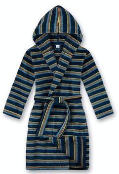 Sanetta Bademantel/morningcoat (244992) blue teal