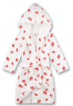 Sanetta Bademantel/morningcoat (232625) white pebble