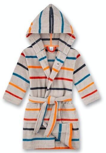 Sanetta Bademantel/morningcoat (232596) light platin meliert
