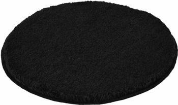 Kleine Wolke Relax rund (60 cm) schwarz