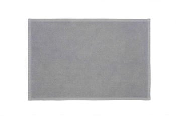 Rhomtuft Plain Badteppich 70x50cm kiesel 581309585