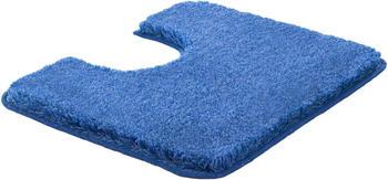 Grund MELANGE 50x60cm WC-Vorleger mit Ausschnitt Jeansblau