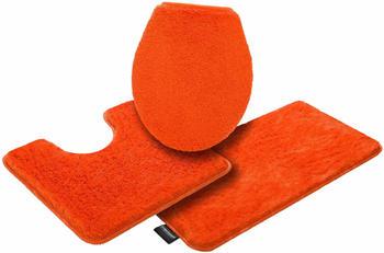 Bruno Banani Lana für Stand-WC 50x90cm 3-tlg. orange