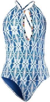 Rip Curl Beach Bazaar One Piece Bikini blue