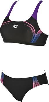 Arena Modular Bikini black/paparazzi (000673-509)