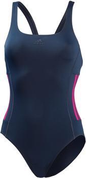 bd3184e42b421 Adidas 3-Streifen Training Badeanzug legend ink/shock pink/noble ink (CX5045
