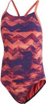Adidas Allover Print Badeanzug multicolor/real coral/chalk coral (CV3639)