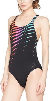 Adidas Damen Badeanzug Perf Swim Inf+ black/shopin/eqtyel