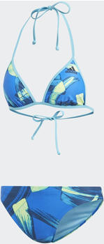 Adidas Parley Beach Bikini (DQ3175) blue/hi-res yellow