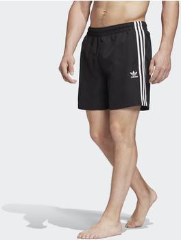 Adidas 3-Streifen Badeshorts black twill (FM9874-0002)