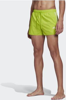 Adidas 3-Streifen CLX Badeshorts semi solar slime (FJ3373-0006)