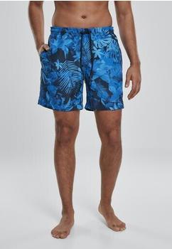 Urban Classics Patternswim Shorts (TB2679-02045-0046) blue flower
