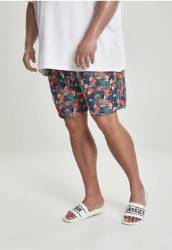 Urban Classics Patternswim Shorts (TB2679-02061-0037) blk/tropical