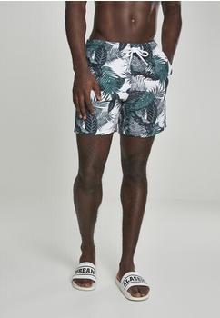 Urban Classics Patternswim Shorts (TB2679-01681-0051) palm leaves