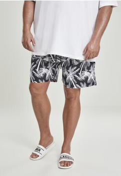 Urban Classics Patternswim Shorts (TB2679-01693-0037) palm/white