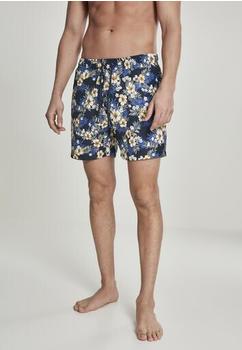Urban Classics Patternswim Shorts (TB2679-01682-0042) hibiscus