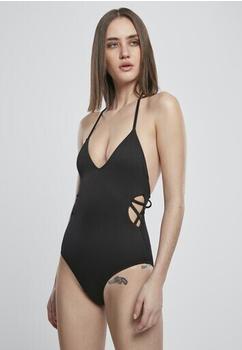 Urban Classics Ladies Rib Swimsuit (TB3464-00007-0042) black