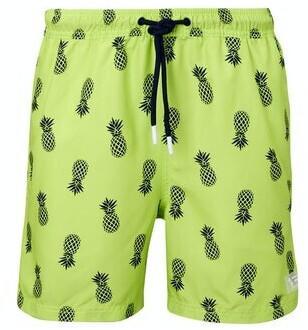 Tom Tailor Denim Herren-bademode (1016978) navy green pineapple print