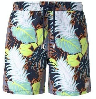 Tom Tailor Denim Herren-bademode (1016978) big tropical leaves print