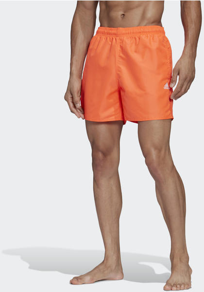 Adidas CLX Solid Badeshorts App solar red (FJ3383-0004)
