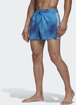 Adidas 3-Streifen Fade CLX Badeshorts tech indigo (FJ3388-0004)