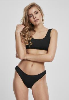 Urban Classics Ladies Tanktop Crinkle Bikini (TB3467-00007-0046) black